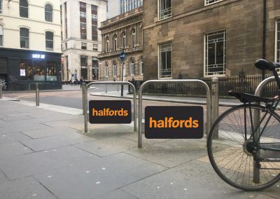 Halfords cycle stands