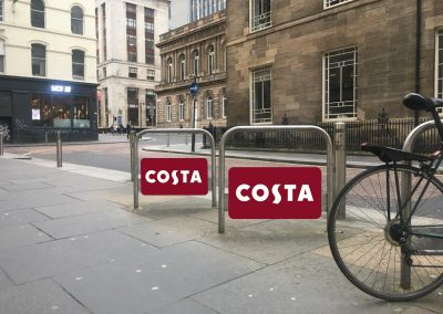 Costa cycle stands